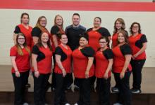 Vantage nursing students class picture