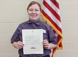 Vantage Senior Receives the President's Volunteer Service Award