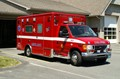 Picture of a Red Ambulance