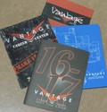 4 older Vantage Memory Books