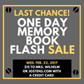 ABSOLUTELY LAST CHANCE TO ORDER YOUR VANTAGE MEMORY BOOK!  image