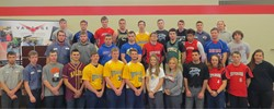 Spring Sports Athletes group picture