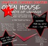 Open House & Taste of Vantage flyer