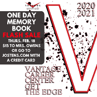 One Day Only Memory Book Flash Sale - Thursday, February 18, 2021