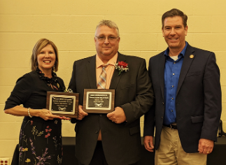 Vantage Inducts Two New Members into Alumni Hall of Fame