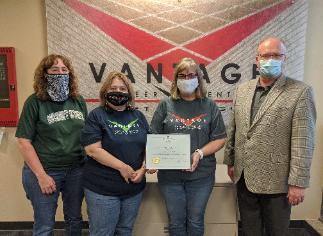Vantage Treasurer's Office Receives Clean Audit Award!