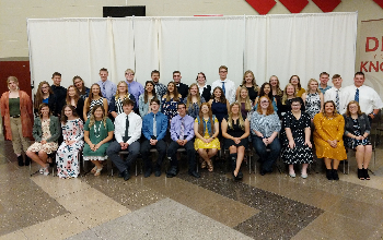 all students who were inducted