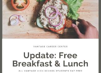 UPDATE: FREE Breakfast & Lunch