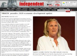 VWAEDC Provides 2020 Economic Development Update - Source VWindependent