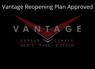 Vantage Reopening Plan Approved Icon