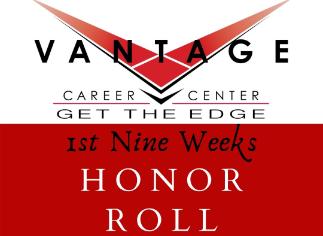 Congratulations Vantage Honor Roll Students!
