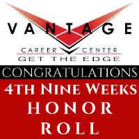 Vantage Honor Roll - 4th Nine Weeks