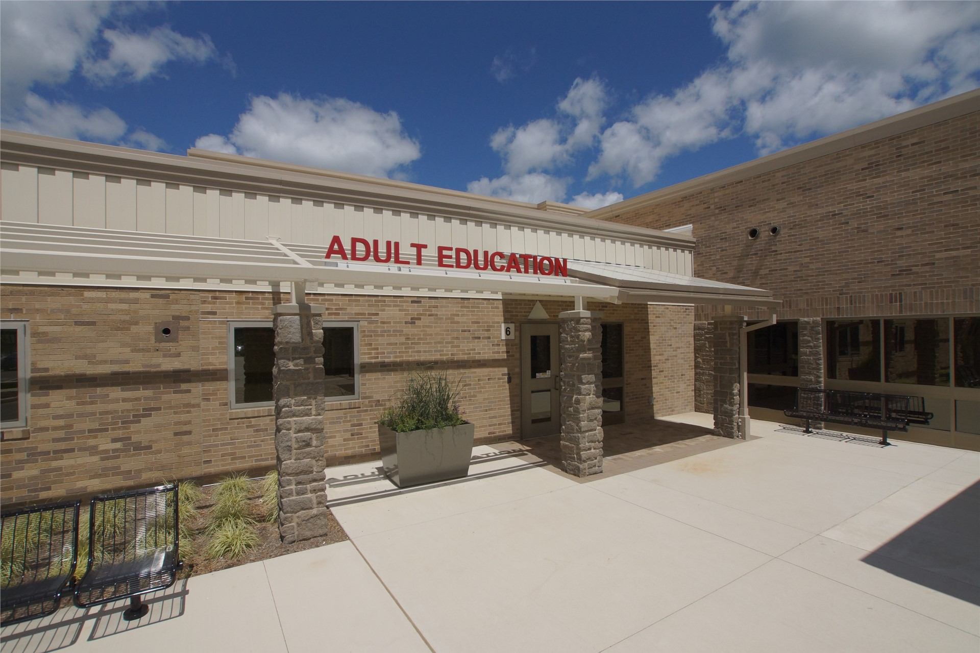 Adult education entrance