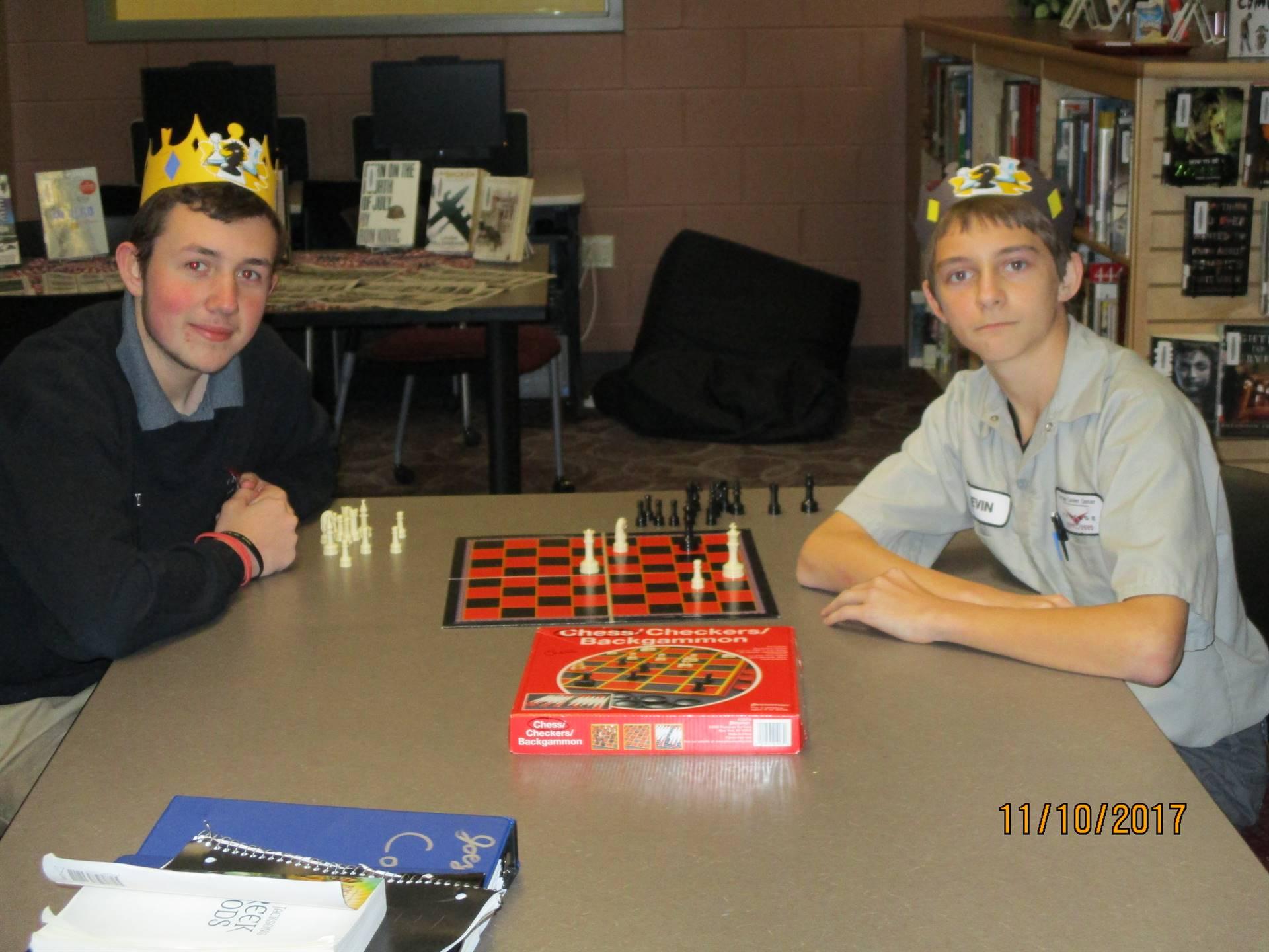 Chess Tournament Winners