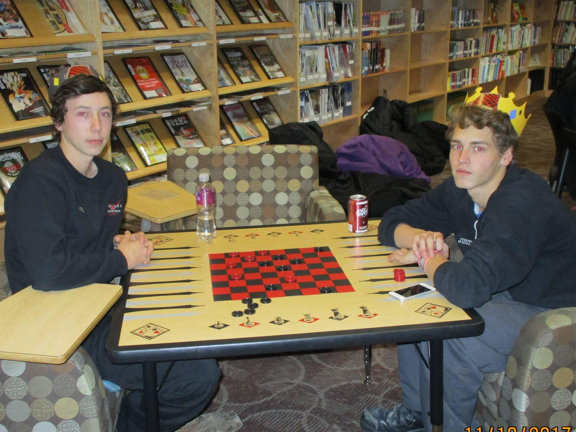 Checkers Tournament Winners