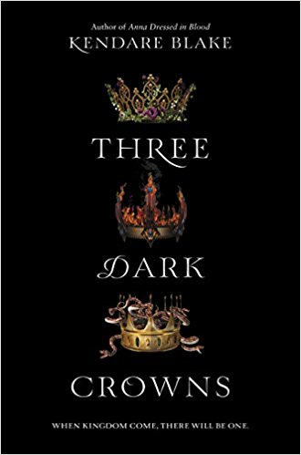 Jacket cover of Three Dark Crowns