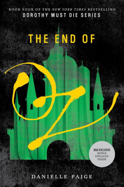 Jacket cover of The End of Oz
