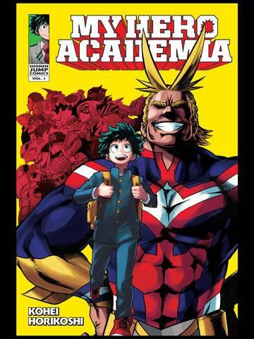 Jacket cover of My Hero Academia