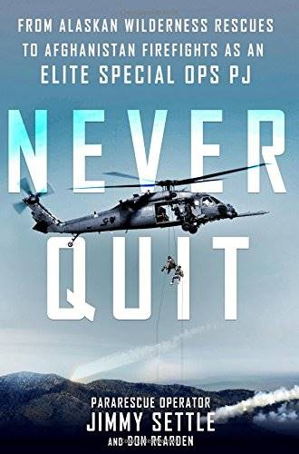 Jacket cover of Never Quit