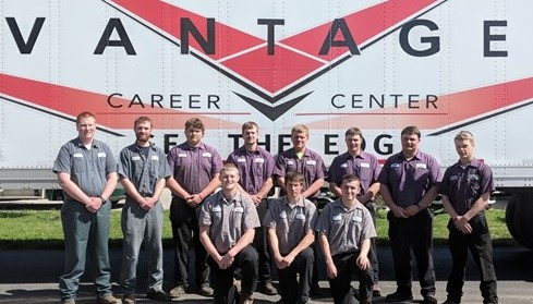 Vantage seniors obtained their Class A CDL.