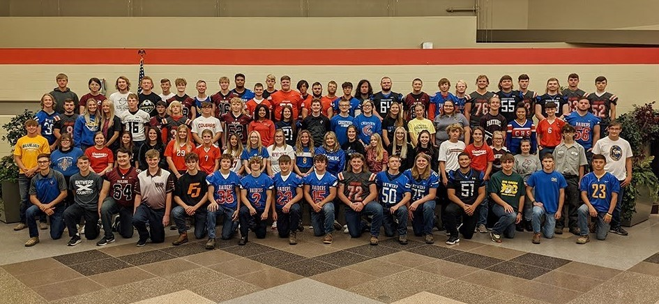 2021 Fall sports athletes who attend Vantage